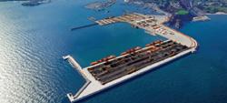 Gastos de ampliacion puertos de Gijón y Coruña